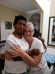Tia Phyllis with Minga