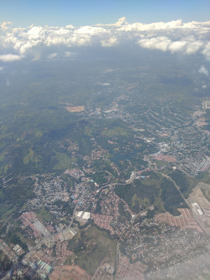 Neighborhoods to the west of Panama City.